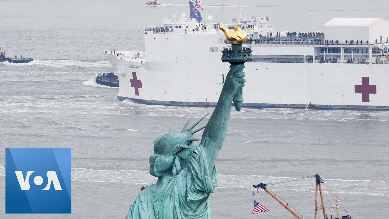 USNS Comfort Arrives in NYC as City's Coronavirus Death Toll ...