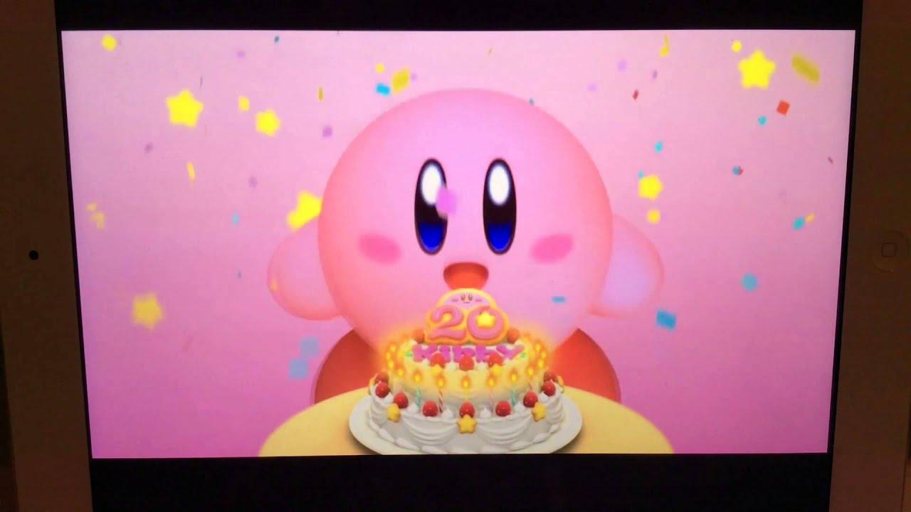 kirby had got a birthday cake youtube