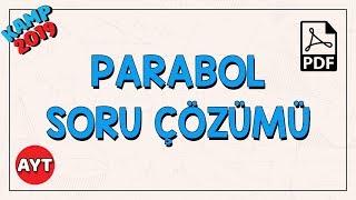 Parabol Soru Çözümü  AYT Matematik