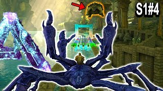 🐢 ARK KARKINOS TURTLE THROW EVENT!! Giant Crab Turtle Throwing!! Ark Aberration Gameplay Ep4