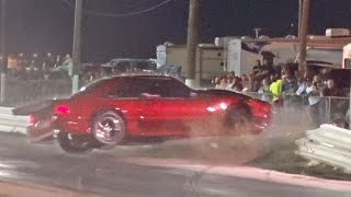Mustang SMASHES Through Race Track Barrier!? thumbnail