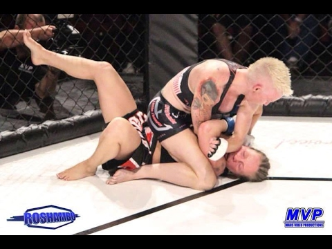 Shauna Carew Vs Sarah Lagerstrom Roshambo Pinweight Title February 2014