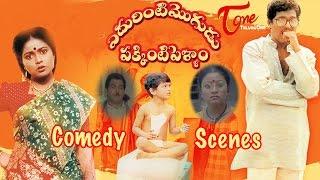 Edurinti Mogudu Pakkinti Pellam  Movie Comedy Scenes || Back to Back || Rajendra Prasad || Divyavani