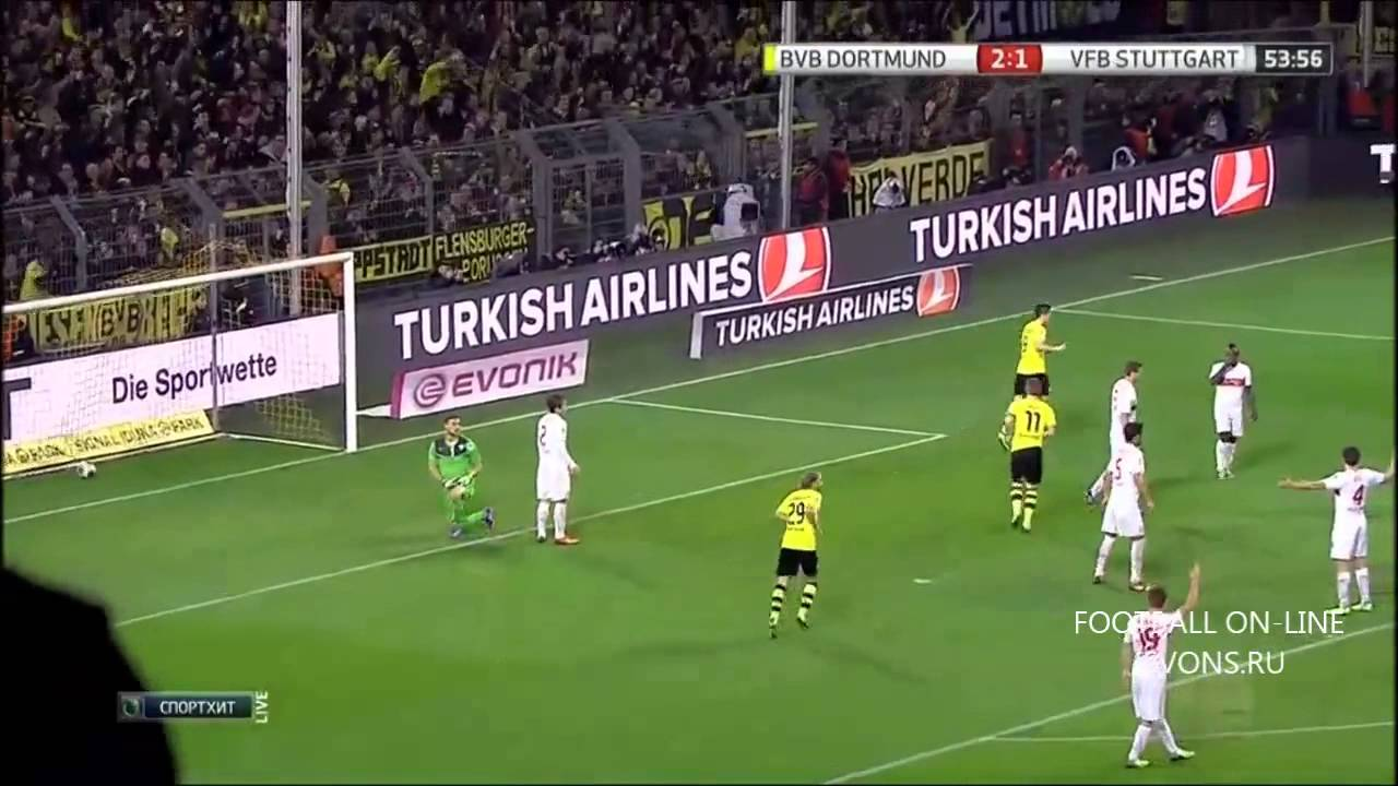 dortmund stuttgart highlights