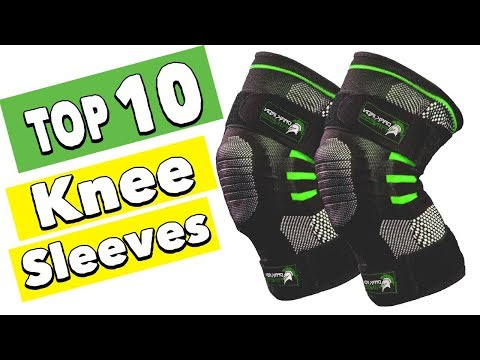 Best 10 Knee Compression Sleeves for Running and Squats