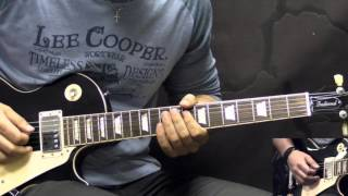Gary Moore - Oh Pretty Woman - Blues Guitar Lesson Part1 (with Tabs)