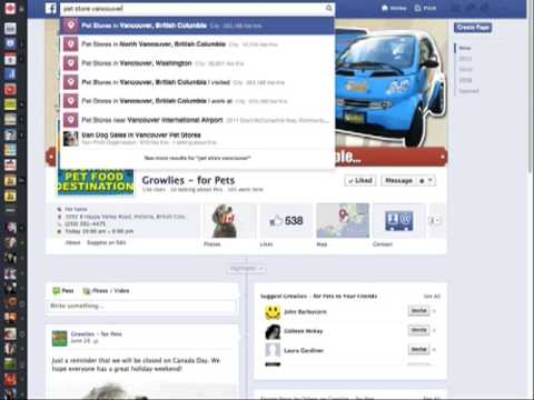 sample facebook page