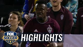 Colorado Rapids vs. New York Red Bulls | MLS Highlights | FOX SOCCER