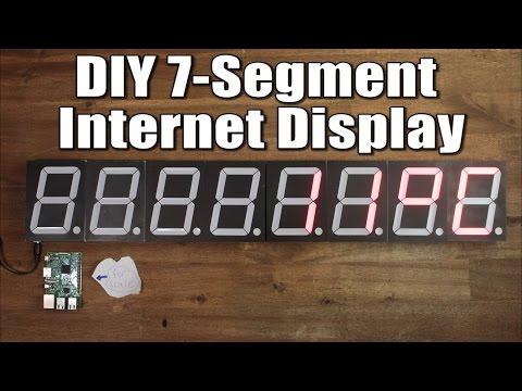 7 Segment LED Shift Register tutorial by Lucidtronix
