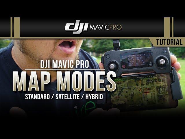 DJI Mavic Pro / Map Modes