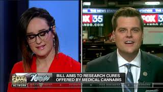 Rep. Gaetz introduces legislation that would expand research into medical cannabis