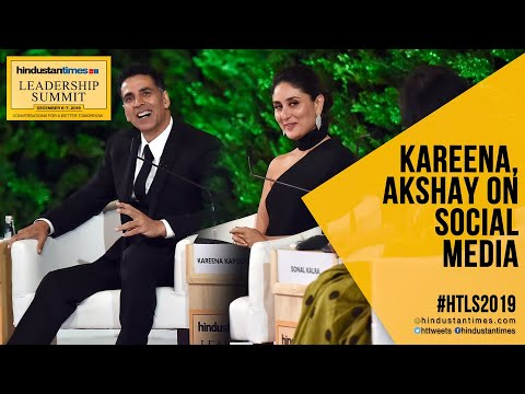 Watch: Why Akshay Kumar Called Kareena Miss Know-It-All At #HTLS2019