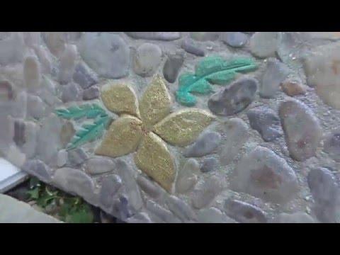 Натуральный камень. Садовая или тротуарная плитка.