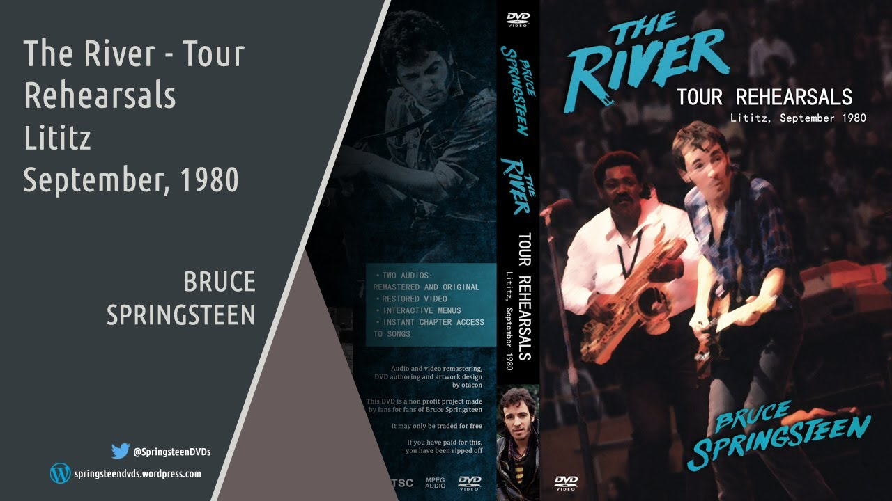 Bruce Springsteen The River Tour Rehearsals Youtube