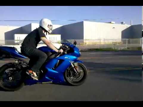 Kawasaki Ninja Zx6r 2008 Candy Plasma Blue