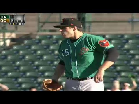 Norfolk's Means records his sixth strikeout