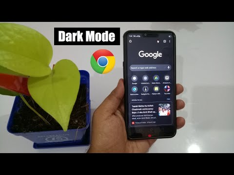 How To Enable Dark Mode On Google Chrome On Android 2020