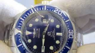 Обзор мужских наручных часов Invicta Pro Diver Grand Diver Automatic 3045(, 2013-08-26T20:27:55.000Z)
