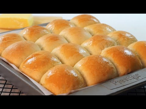 BUTTERSOFT BUNS So Easy To Make Bread