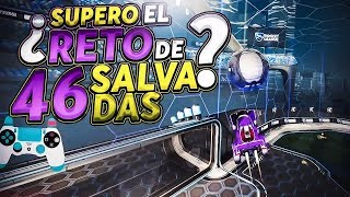 ¿SUPERO EL RETO DE RUBIK DE LAS 46 SALVADAS? ~ ROCKET LEAGUE