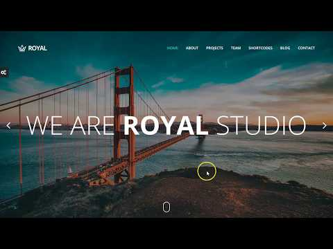 One page responsive parallax wordpress themes