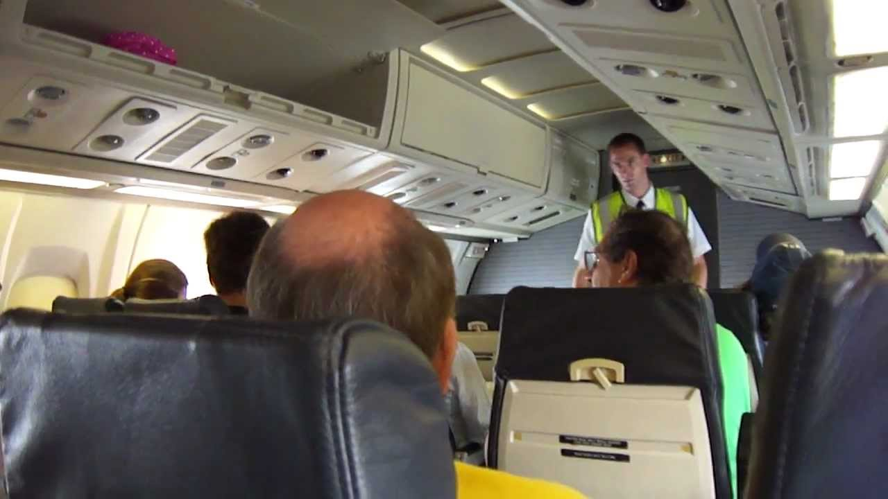 Inside An Atr 72 American Airlines Youtube