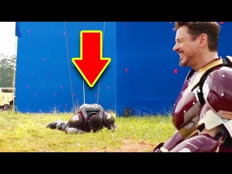 Самые смешные неудачные дубли и ляпы Marvel