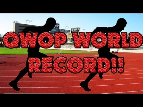WORLD'S BEST QWOP RUN EVER!!!!!