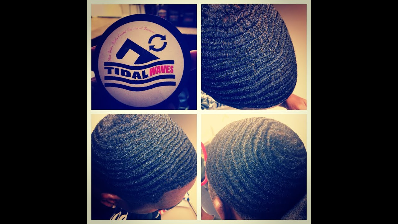 360 Waves Tidalwaves Pomade Review And Brush Session