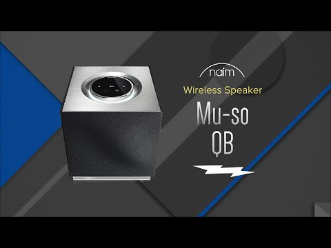 Naim Mu-so Qb Compact Wireless Music System MUSOQB - Overview