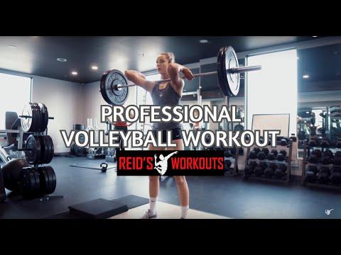 Volleyball Strength Training w/ Sohpie Bukovec & Alex Poletto   Part 2: Strength/Power Development