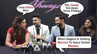 Nagma Mirajkar Get Shy In Public When Ask Abt Marriage With BF Awez Darbar @ Atrangz Studio Launch