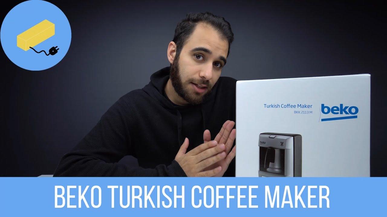 اسهل طريقة لاعداد القهوة التركيه من بيكو Beko Turkish Coffee Maker