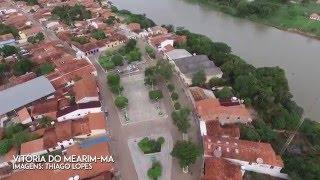Imagens aéreas de Vitória do Mearim-MA
