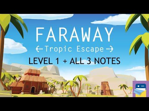 Faraway: Tropic Escape - Level 1 Walkthrough + All 3 Letters & iOS Gameplay (by Snapbreak Games)