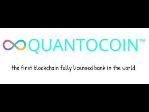 Quantocoin - Твйо банк на блокчейн в смартфоне