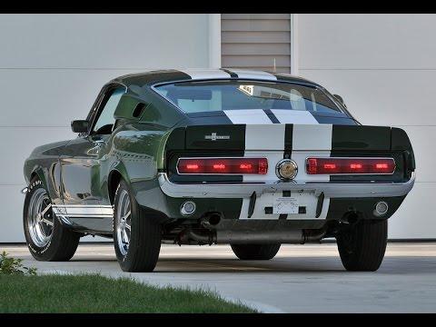 Ford Mustang Shelby GT 1967 - Видео онлайн