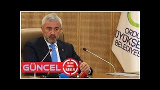 Ordu Belediye Başkanı Enver Yılmaz'ın istifası istendi iddiası