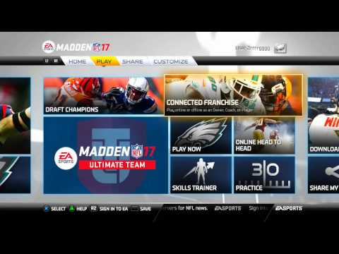 Madden NFL 17  How To Rebuild Your Connect Franchise Offline Team into a Super Team