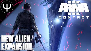 ARMA 3: Contact Expansion — NEW ALIEN ARMA Expansion + NEW  Map First Look!