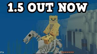 Minecraft Xbox / PE 1.5 Update OUT NOW - w/ Underwater Horses