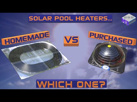 Solar Pool Heater Comparison – Homemade Vs Purchased