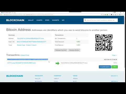 Blockchain | How To Verify A Bitcoin Transaction And Get Your Hash ID