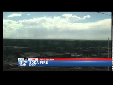Owyhee County Soda Fire Closes Highway 95