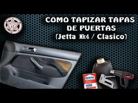 COMO TAPIZAR TAPAS DE PUERTAS | JETTA MK4 7 CLASICO | Muy Buen Resultado A Bajo Costo !!!