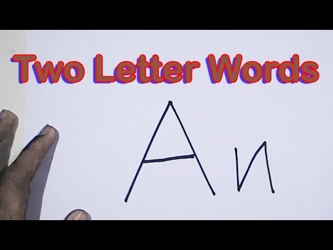 How To Read a Two Letter Word - Two Letter Words - Two Letter - word letter