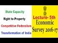 Economic Survey 2016-17- Lecture- 5th - [UPSC/PCS/RBI-Gr-B/SBI-PO/IBPS/SSC] By VeeR