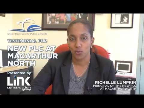 Testimonial - MDCPS - PLC at MacArthur North