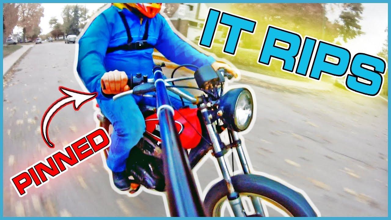 Yamaha enduro jacket blue