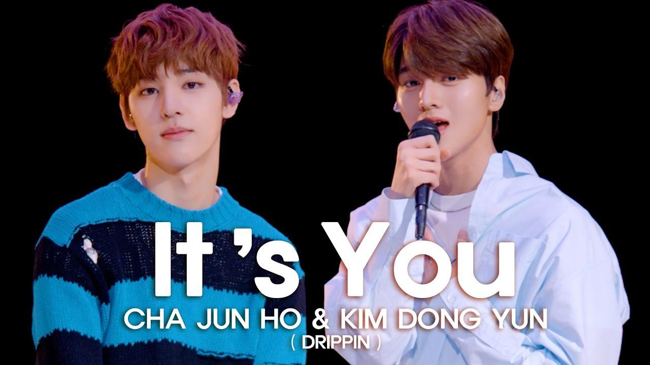 [woollim THE LIVE 4] 차준호&김동윤(DRIPPIN) - It's You (Feat.ZICO) COVER (원곡: 샘김)
